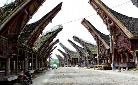 typowa wioska Tana Toraja