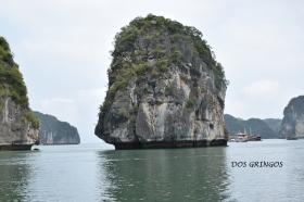 skałą wapienna w Ha Long