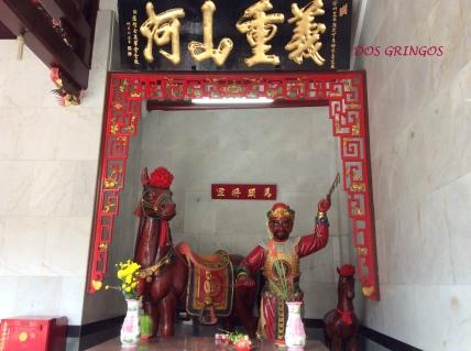 wojownicy w pagodach