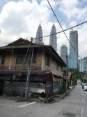 typowy domek w Kampung Baru