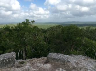 widok z La Danta na okolicę
