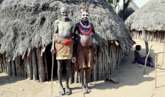 Starszyzna plemienna Karo